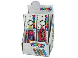 Wholesale Novelty Funky Sayings Keychain In Countertop Display