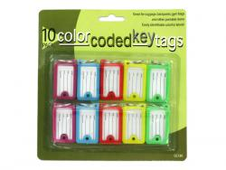 Wholesale Color Coded Key Tags