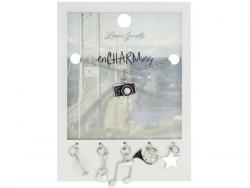 Wholesale Camera Charm Necklace With Multiple Charms