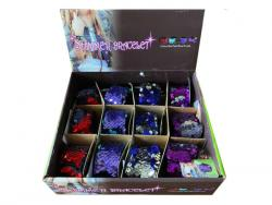 Wholesale Shimmer Bracelets In Assorted Colors In Countertop Display