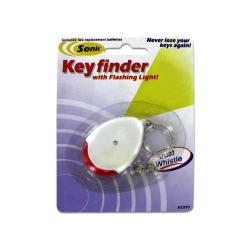 Wholesale Sonic Key Finder Key Chain With Flashing Light